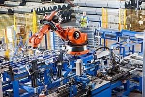 中国工业机器人大步争先