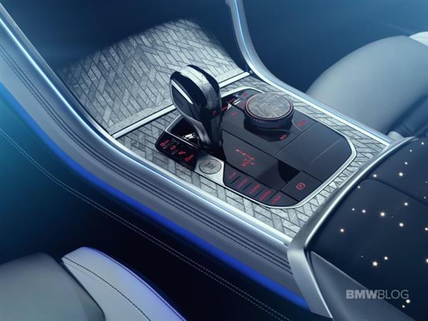 BMW M850i定制版使用陨石和3D打印来制造部件
