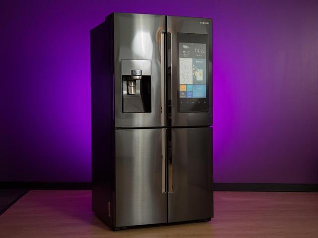三星发布新款 智能冰箱 搭载AI语音助手Bixby