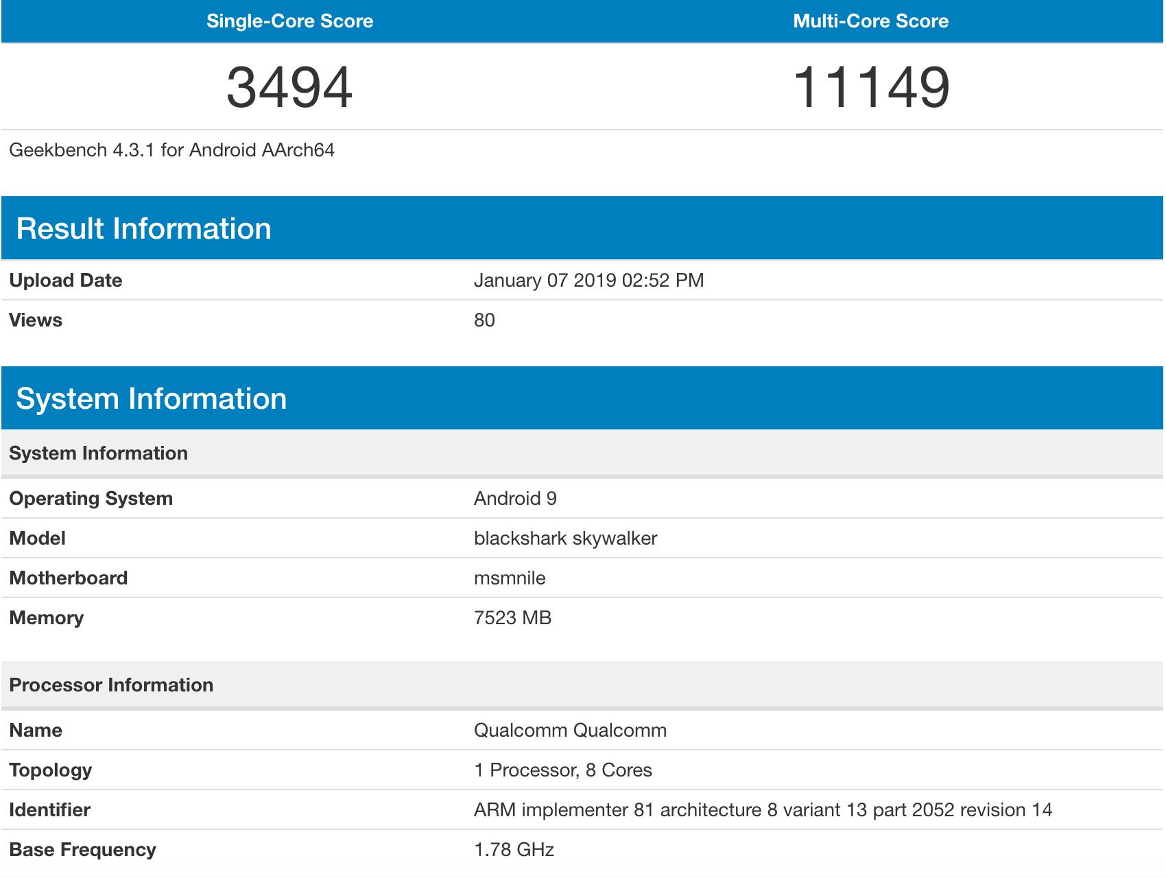 小米骁龙855新机跑分曝光:是MIX3 5G版还是小米9?