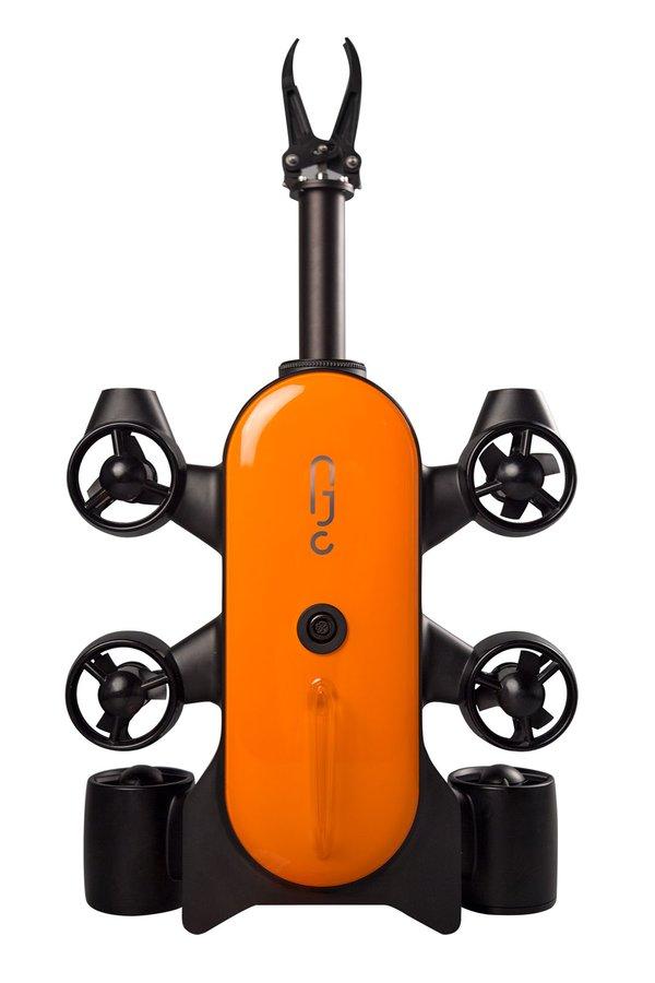 吉影科技携全新水下机器人泰坦亮相CES2019
