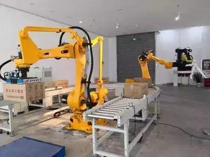 中国搬运码垛机器人企业集中在这三个地方