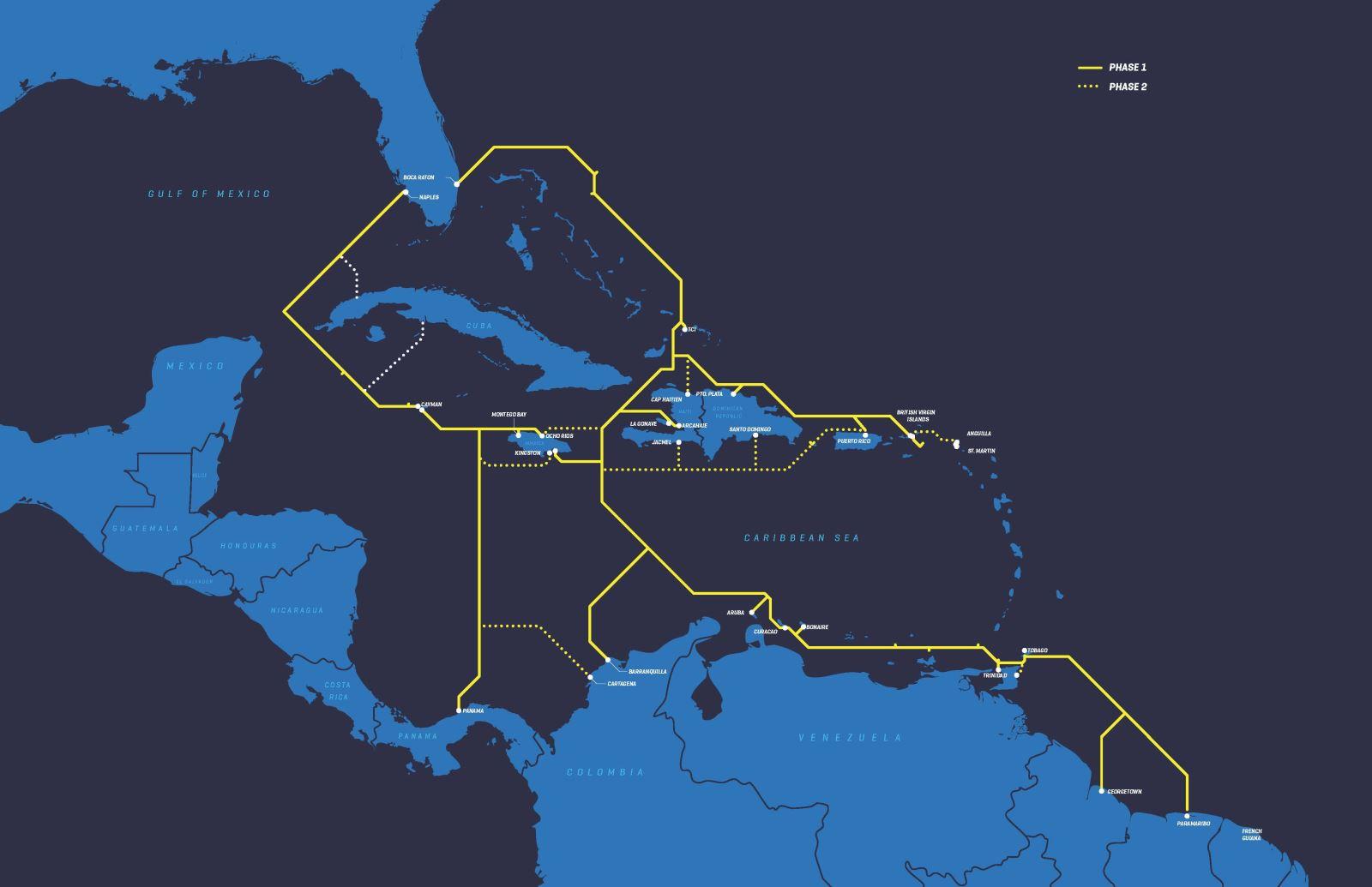 非洲1号海底光缆系统拟于2021年投产