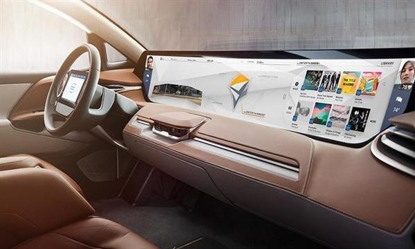 拜腾首款量产车:48英寸中控屏确定保留