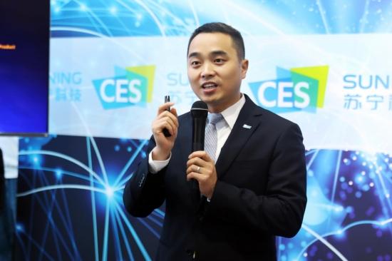 苏宁亮相CES 智慧零售大脑构建全球零售生态体系