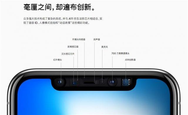 苹果Face ID供应商推出屏下传感器