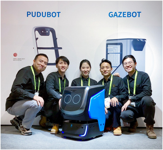 开创配送机器人新纪元 普渡科技携HOLABOT亮相CES 2019