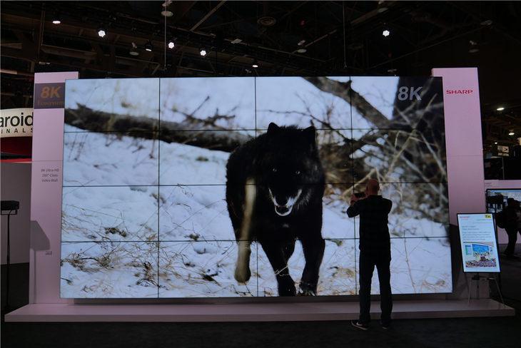 夏普2019CES展台揭秘:用8K与AIoT技术改变世界