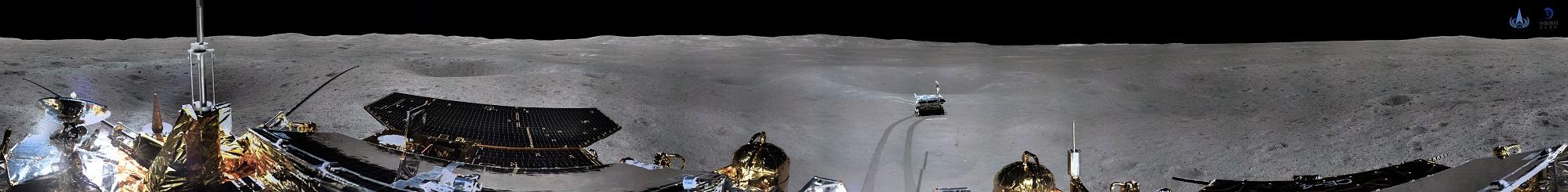 全球首张月背全景图问世 嫦娥玉兔借助鹊桥回传数据