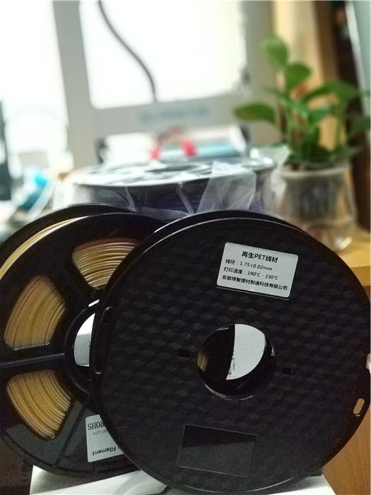绿智增材傅左强:3D打印作再生耗材的一个先行者