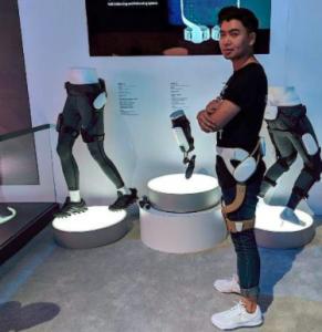 """三星的""""机器人""""和外骨骼,暗示了未来护理的发展方向?"""