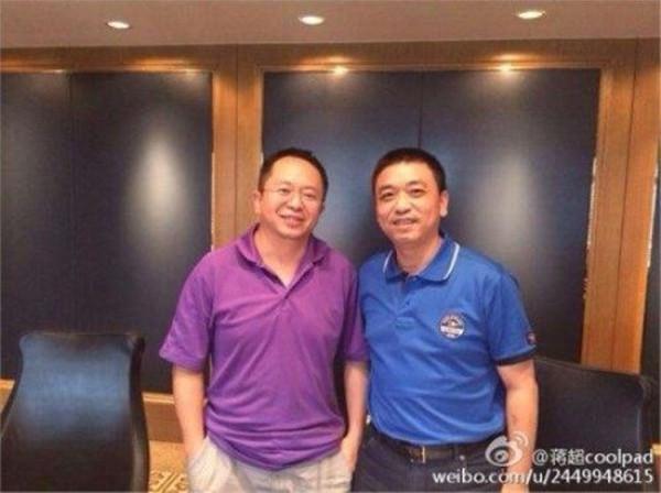 酷派CEO蒋超黯然下台 4年前与周鸿祎互骂一战成名
