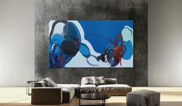 三星秀219英寸巨无霸电视:MicroLED 4K+