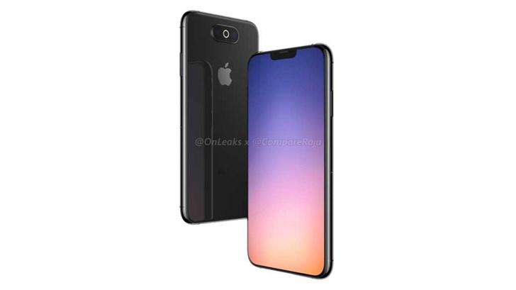 "Onleaks再次曝光苹果""iPhone XI""渲染图:三摄+环形闪光灯"