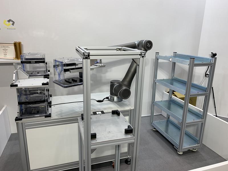 达明机器人亮相东京2019 RoboDEX展览