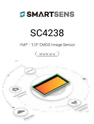 思特威旗下高适用性CMOS图像传感器新秀SC4238正式发布