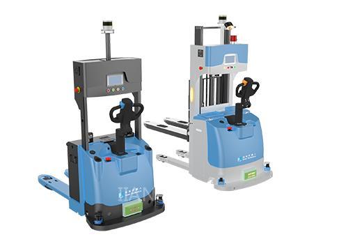 仙知激光SLAM搬运式自动叉车开启工业搬运新方式