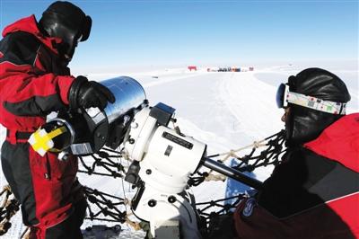 视宁度测量望远镜在南极完成安装