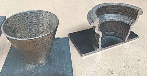LENS激光熔融风喷金属3D打印技术