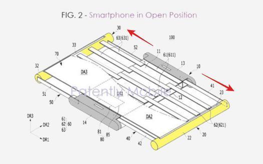 除了可折叠屏,三星卷曲伸缩式手机已在路上
