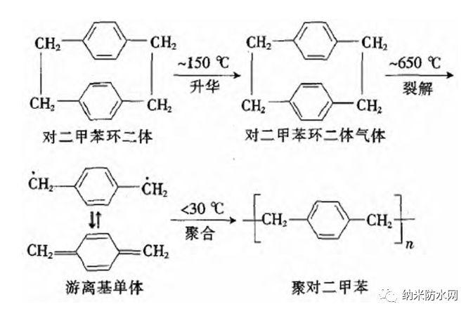 聚对二甲苯薄膜制备工艺及其在橡胶制品上的应用