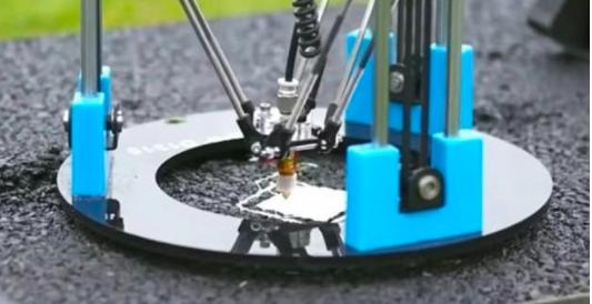 英国bet36体育在线网师用3D打印沥青修复道路裂缝