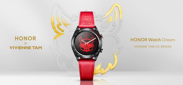 在潮流科技中融入艺术元素 荣耀VIVIENNE TAM联名款智能腕表发布