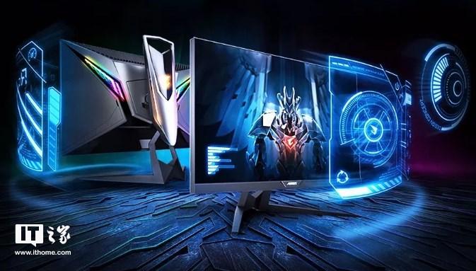 """技嘉发布首款""""战术""""电竞显示器:内置准心,提供游戏计时功能"""