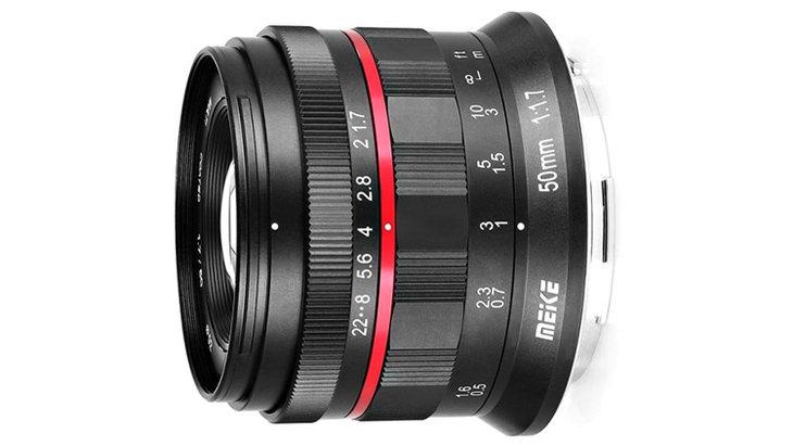 性价比超高 美科为佳能及尼康全画幅微单推出50mm f/1.7