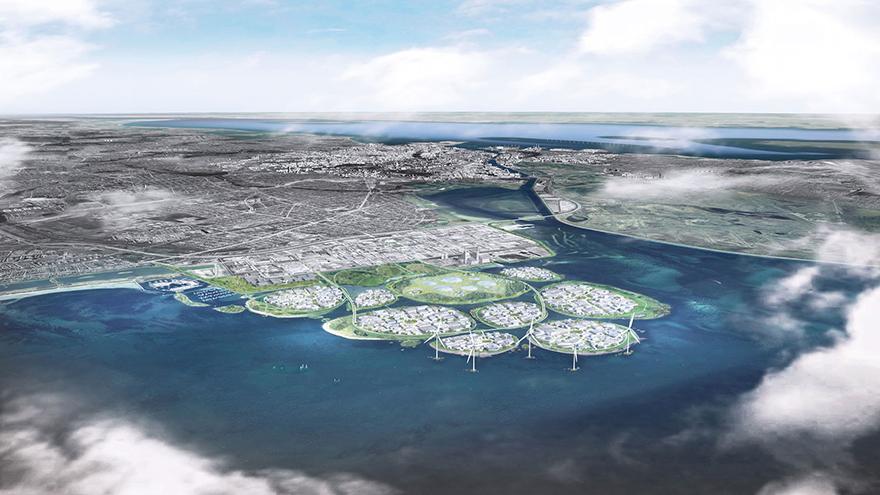"""哥本哈根拟建9座人工岛,从零打造""""欧洲硅谷"""""""