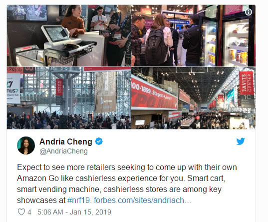 2019值得关注的六大零售科技趋势