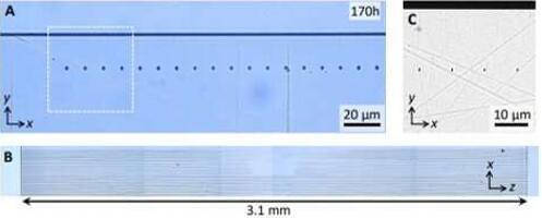 利用3D飞秒激光纳米光刻技术制备晶体纳米结构