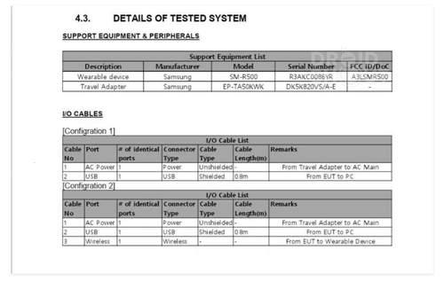 三星Galaxy Sport智能手表已通过认证将正式推出