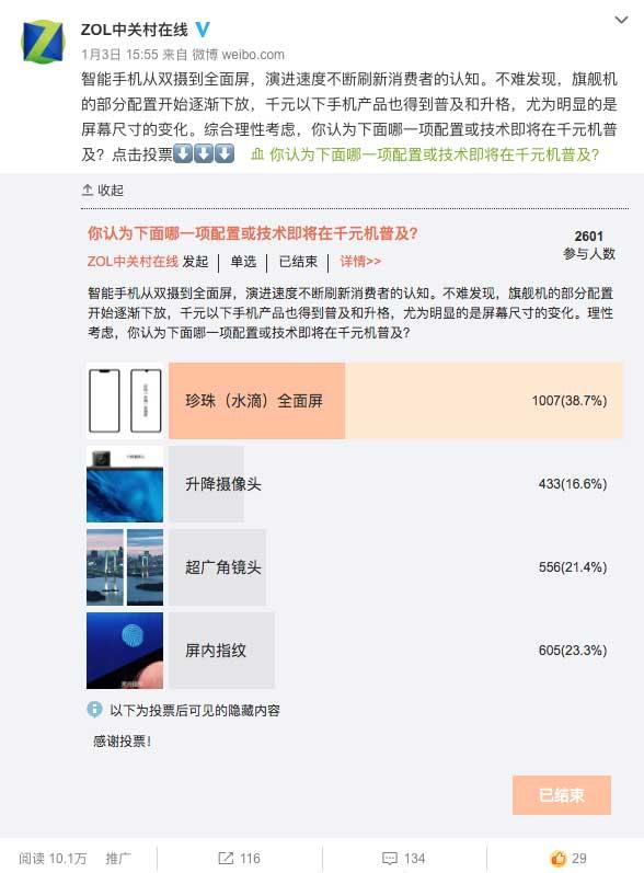荣耀畅玩8A、小米Play、红米6 Pro对比评测:谁的屏价比强?