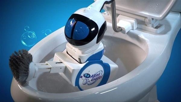 世界首款马桶清洁机器人500美元开售
