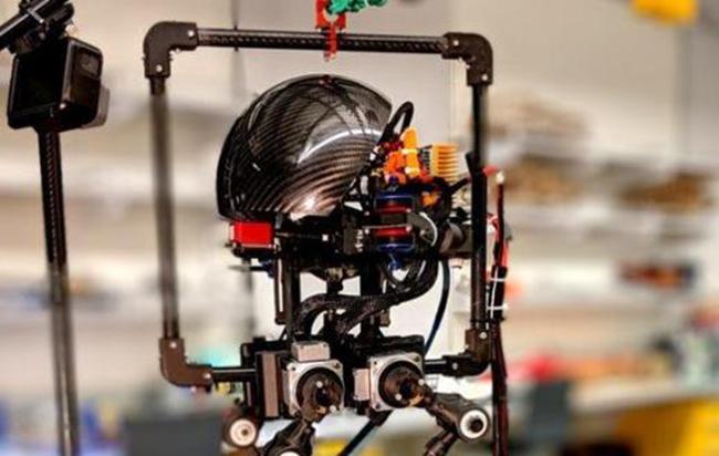 AI跑酷高手 敏捷型机器人亮相