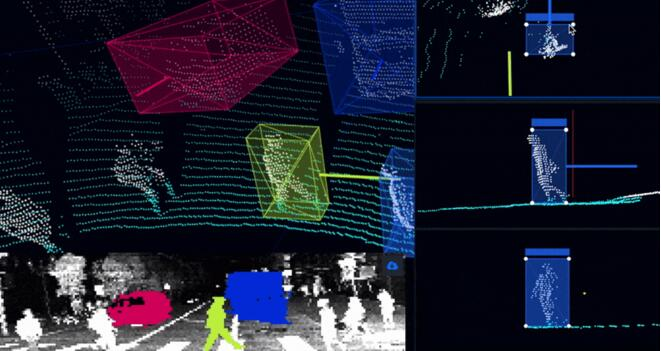 激光雷达也需软硬兼顾:结构化激光雷达数据及其标记