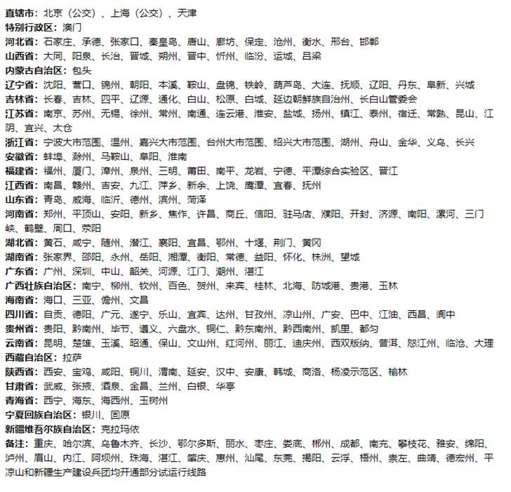 小米台州公共交通卡内测:能刷210个城市