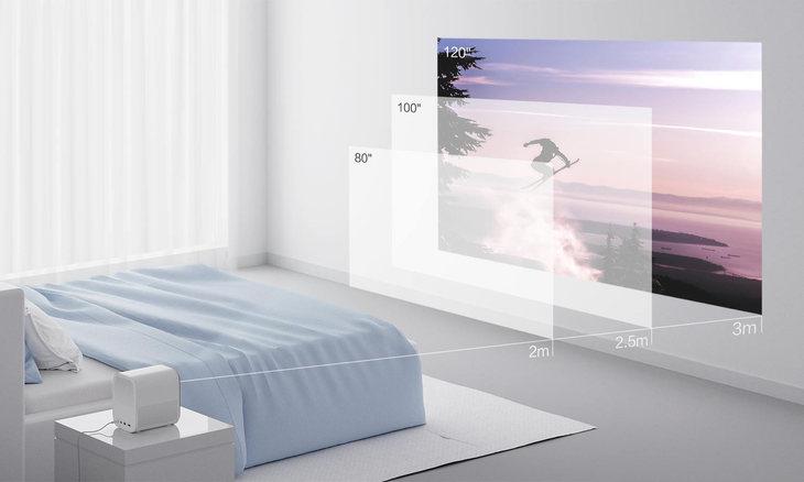 米家投影仪青春版体验 有它可以不用买电视了