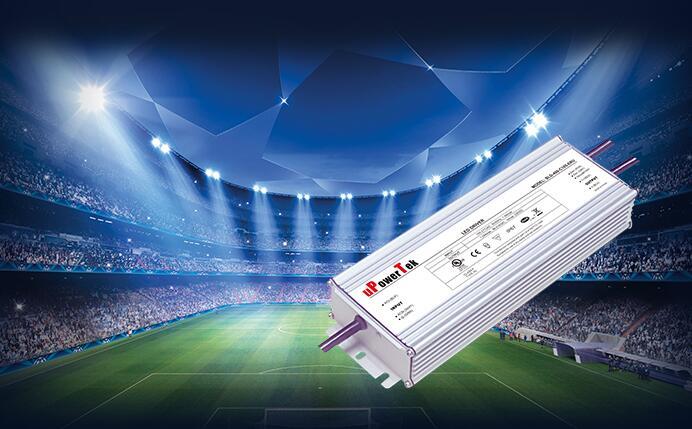 优特电源推出超高效率400-480W恒压防水防尘LED电源