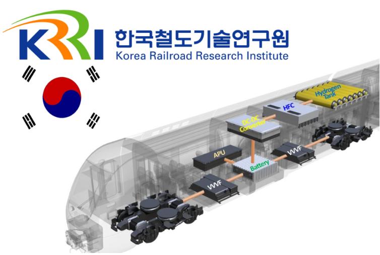韩国开发氢燃料电池列车
