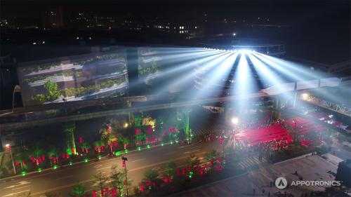 揭秘春晚黑科技:2000㎡户外投影秀,来自中国的激光显示技术