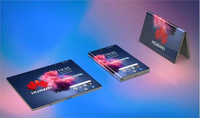 外媒展示华为折叠屏智能机3D渲染图 MWC2019发布