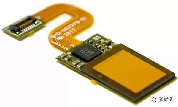 指纹识别模组光源由oled显示屏提供,并在传感器芯片上沉积了准直器层.