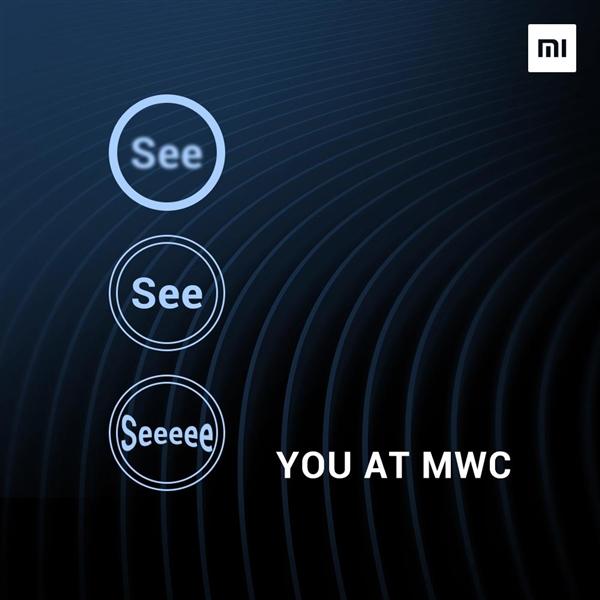 小米官方海报揭秘小米9三摄方案 MWC2019上见