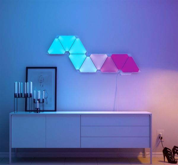 小米有品上架智能奇光板:全色系灯光/语音控制