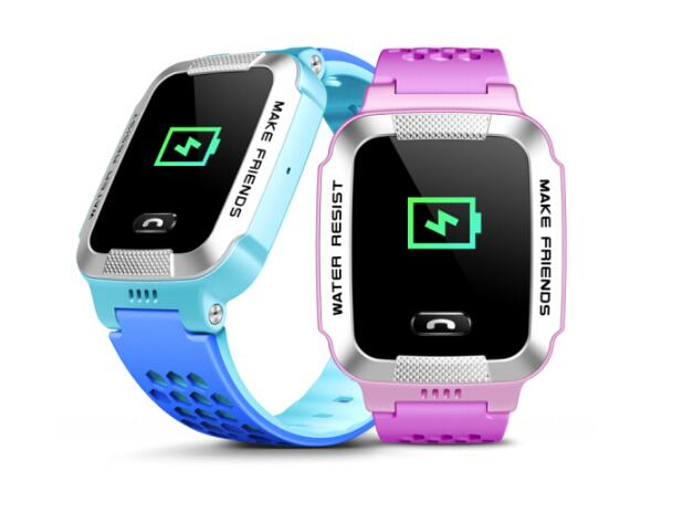 寒假过完了新学期开学 防水GPS儿童智能电话手表