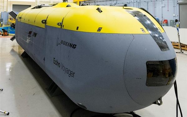 美国海军制造水下神器:长15.5米的无人驾驶海底车