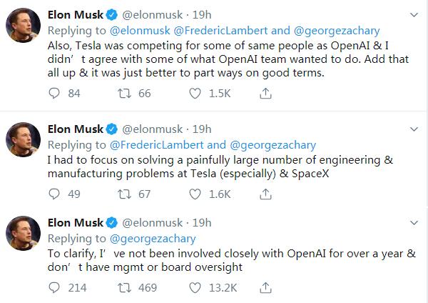 马斯克计划退出人工智能组织OpenAI