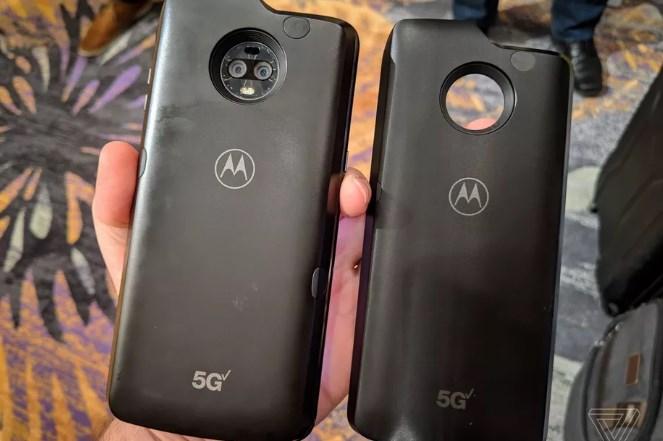 摩托罗拉5G Mod配距离传感器:离太近就关闭5G毫米波